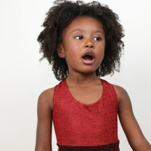 Young girl singing All Behaviour Consultancy webinar
